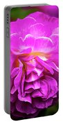 Flower In A Garden Portable Battery Charger