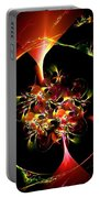Flower In Eden Portable Battery Charger