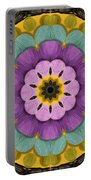Flower In Paradise Portable Battery Charger