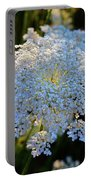 Flower In The Field  Portable Battery Charger