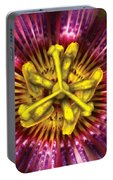 Flower - Intense Passion  Portable Battery Charger