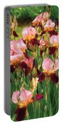 Flower - Iris - Gy Morrison Portable Battery Charger