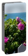 Flower Island View Portable Battery Charger
