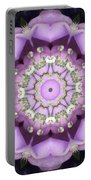 Flower Kaleidoscope 004 Portable Battery Charger