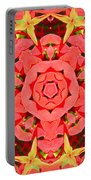 Flower Kaleidoscope Portable Battery Charger