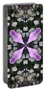 Flower Kaleidoscope_001 Portable Battery Charger