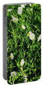 Flower Kissed Fields Portable Battery Charger