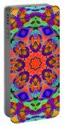 Flower Mandala 4 Portable Battery Charger
