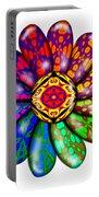 Flower Mandala 6 Portable Battery Charger