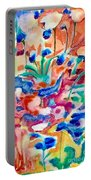 Flower Market Portable Battery Charger