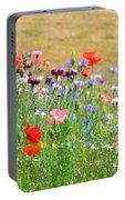 Flower Meadow Portable Battery Charger