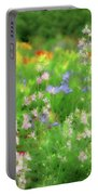 Flower Mosaic Portable Battery Charger