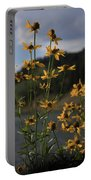 Flower Mountain View Portable Battery Charger