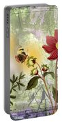 Flower-n Portable Battery Charger