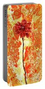 Flower On Sun Portable Battery Charger