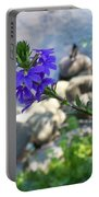 Flower Overboard Portable Battery Charger