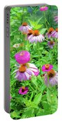 Flower Patch Portable Battery Charger