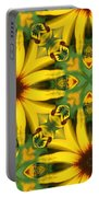 Flower Pattern Portable Battery Charger