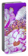 Flower Portrait Painting Portable Battery Charger