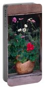 Flower Pot In Window Portable Battery Charger