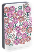 Flower Power 8 Portable Battery Charger