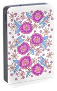 Flower Power 9 Portable Battery Charger