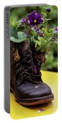 Flower Shoe Pot Portable Battery Charger
