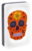 Flower Skull 1 Portable Battery Charger