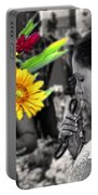 Flower Stall Portable Battery Charger