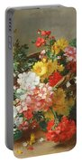 Flower Study Portable Battery Charger