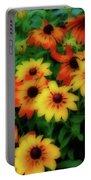 Flower Sunshine Portable Battery Charger