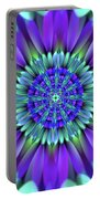 Flower Translucent 19 Portable Battery Charger