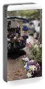 Flower Truck On Nantucket Portable Battery Charger