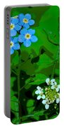 Flower Vision Portable Battery Charger