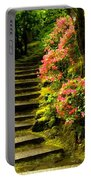Flower Walk Portable Battery Charger