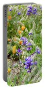 Flower Whispers Portable Battery Charger