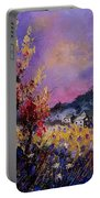 Flowered Landscape 569070 Portable Battery Charger