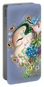 Flowerhead Portable Battery Charger