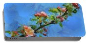 Flowering Apple Branch Portable Battery Charger