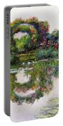 Flowering Arches, Giverny Portable Battery Charger