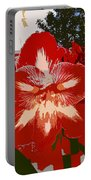 Flowering Backyard Work Number 33 Portable Battery Charger