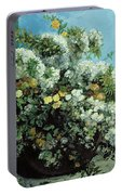 Flowering Branches And Flowers Portable Battery Charger