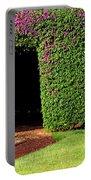 Flowering Garden Portable Battery Charger