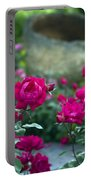 Flowering Landscape Portable Battery Charger