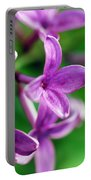 Flowering Lilac Portable Battery Charger