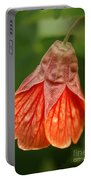 Flowering Maple Macro Portable Battery Charger