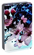 Flowering Of The Plum Tree 7 Portable Battery Charger