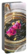 Flowering Tea  Portable Battery Charger
