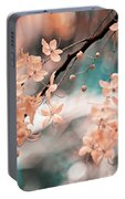 Flowering Tree. Nature In Alien Skin Portable Battery Charger