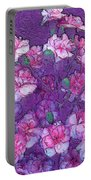 Flowers #063 Portable Battery Charger